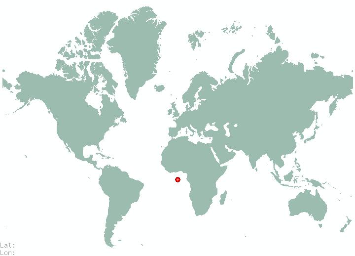 Odessa In World Map